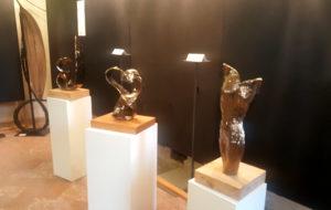 sculture esposte