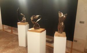 sculture espozione